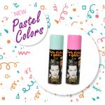 Σπρέι Χρώμα Μαλλιών Glitter Pastel