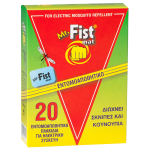 Mr.Fist Mat Εντομοαπωθητικά πλακίδια
